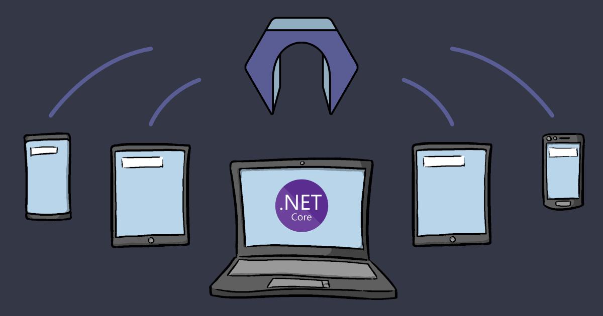 .NET Core service providing a real time API using Resgate